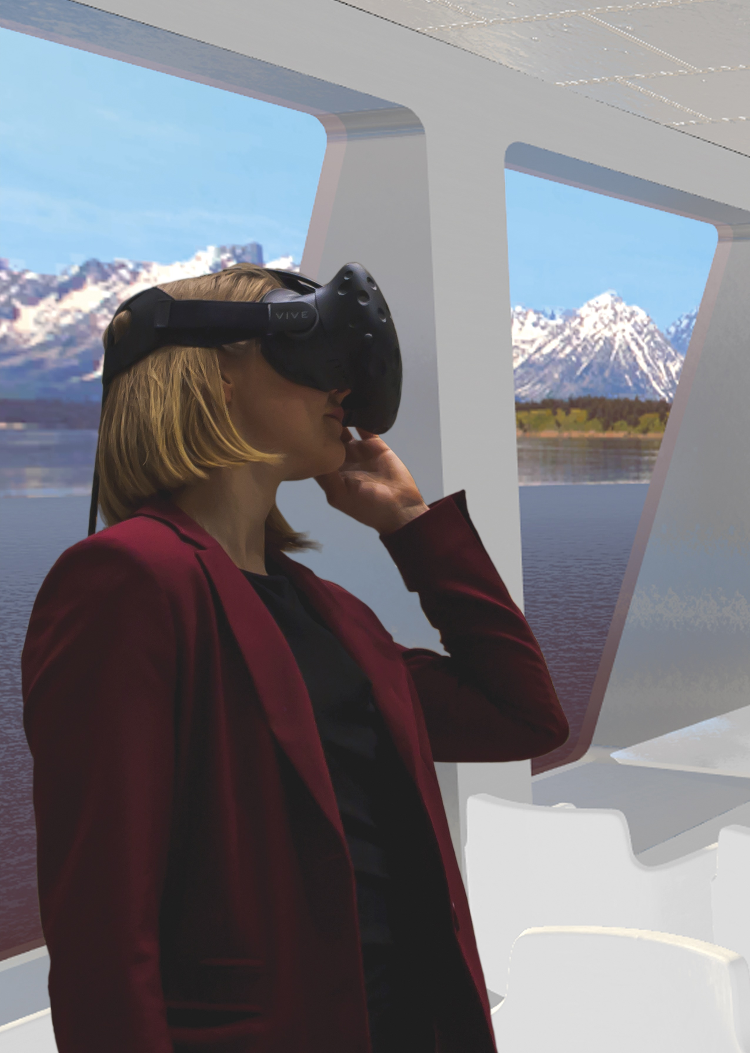 Virtual reality in ship design